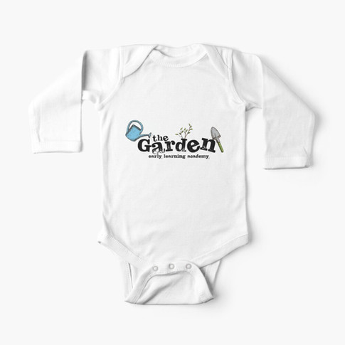 The Garden Early Learning Academy Long-Sleeve Baby Onesie