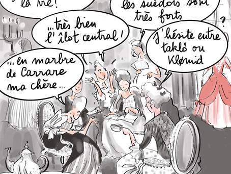 Confinés à Versailles , saison 3,  épisode culinaire