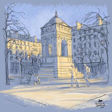 La Fontaine des Innocents , Paris