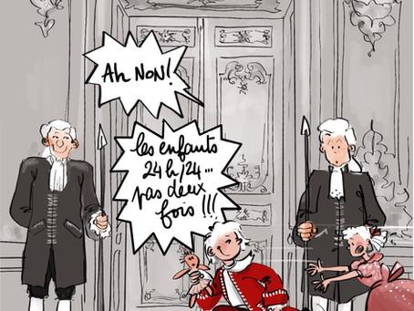 Confinés à Versailles , Saison 3 , nouvel exode