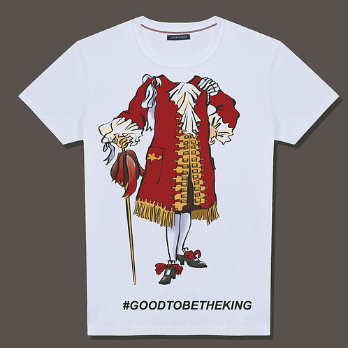 T -Shirt #GOODTOBETHEKING