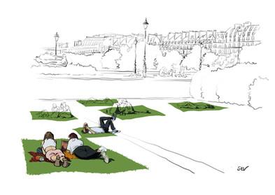 Printemps aux Tuileries - PARIS
