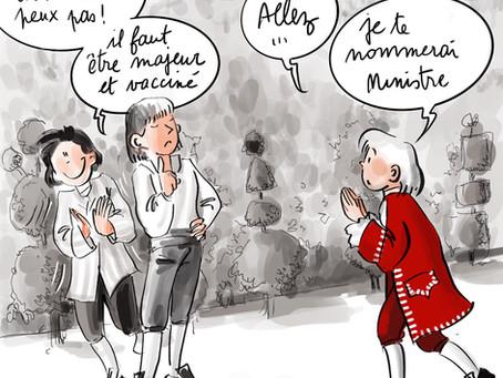 Confinés à Versailles , Saison 3 , épisode léger