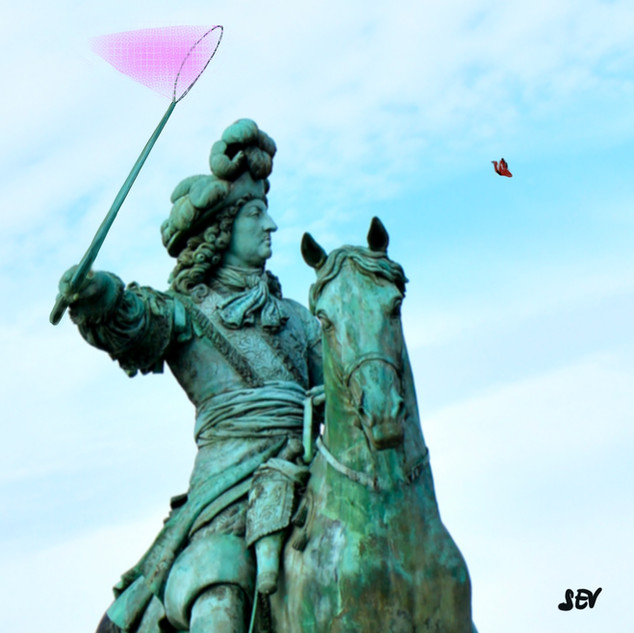 Et Si Louis XIV chassait le papillon?