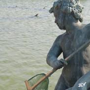 Et s'il y avait des crevettes dans les bassins de Versailles?
