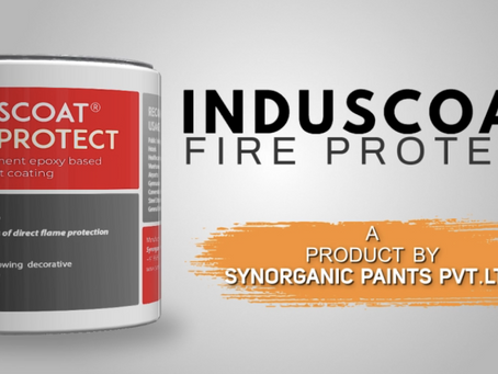 Complete fire protection with INDUSCOAT FIRE PROTECT