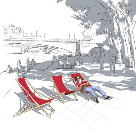 Transat sur les Quais de Seine