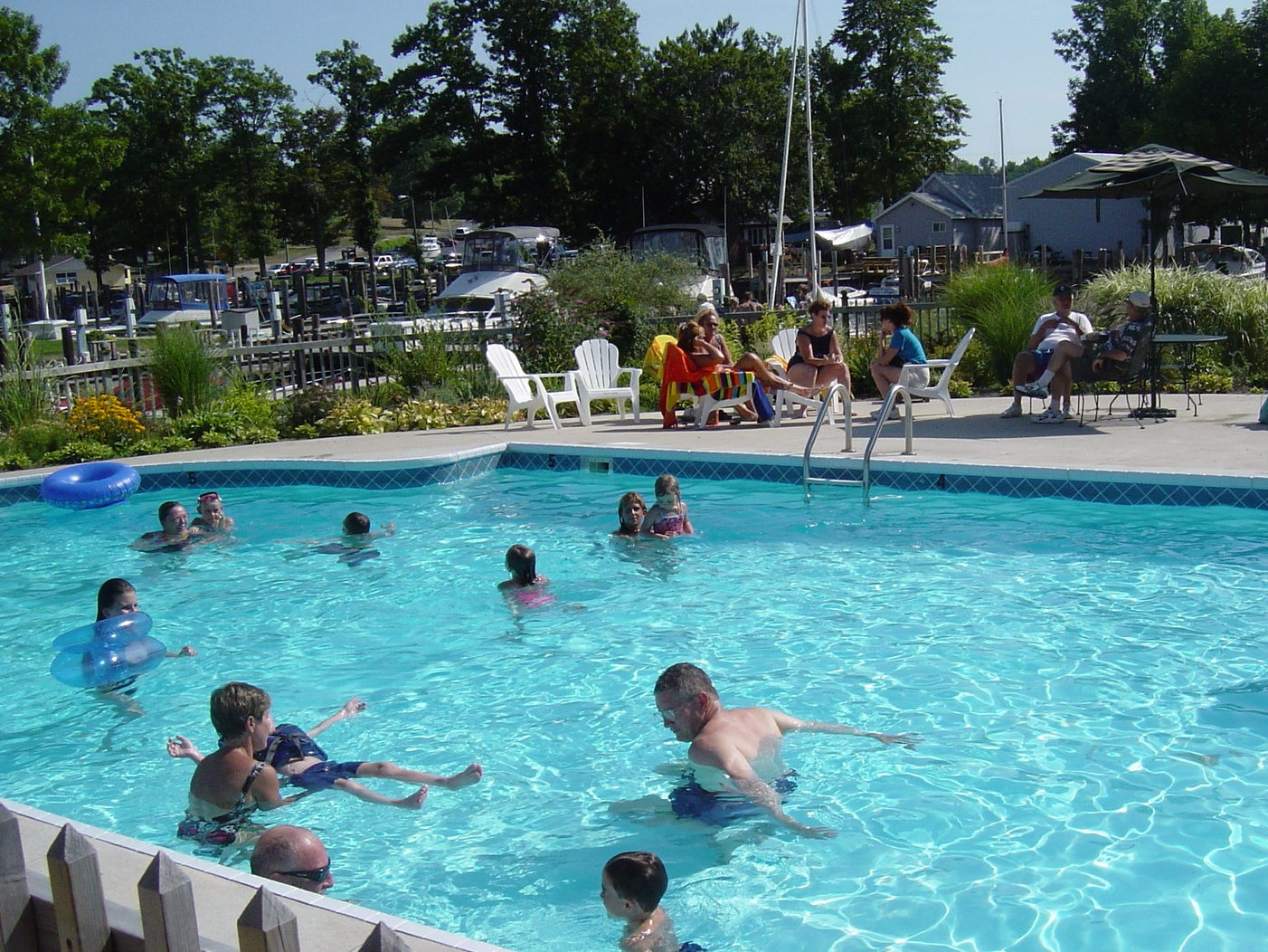 South Haven Marina Heated pool