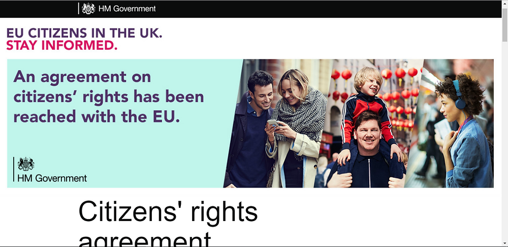 Home Office launch new EU Citizens' Rights website
