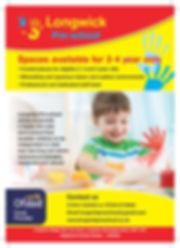 001-Longwick Pre-school Poster - A5-page