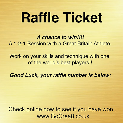 Win a 1-2-1 Session with an Olympian, Raffle Ticket