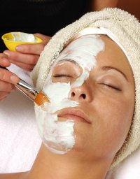 face mask aplication