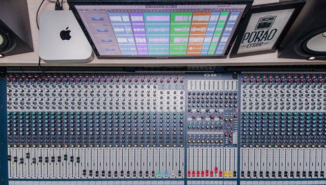 Mesa Som Soundcraft GB8