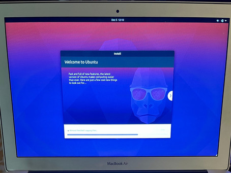 Install Ubuntu Desktop 20.10 on MacBook Air (Late '10)