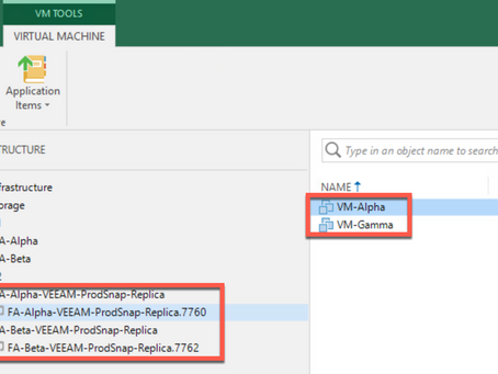 Automate FlashArray Snapshot Replication to a Secondary Site with Veeam and PowerShell