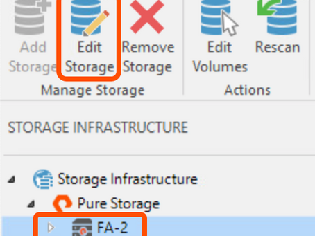 Considerations when Enabling FlashArray SafeMode with Veeam Backup from Storage Snapshots