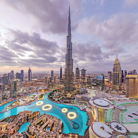 The Burj Khalifa, Dubail