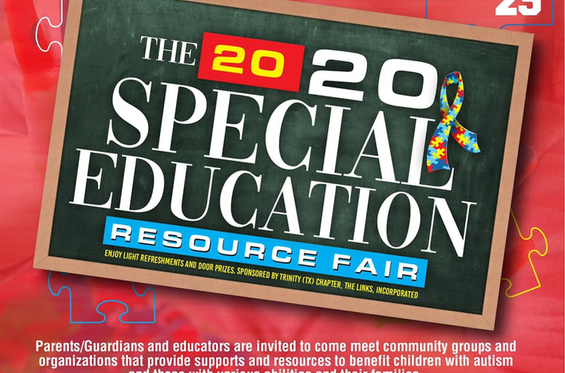 Special Education Resource Fair English
