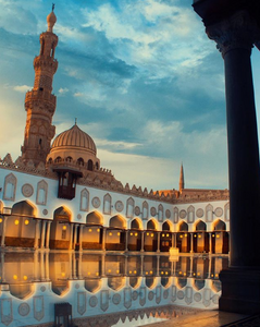 Azhar mosque.10 Most Beautiful Mosques in Egypt