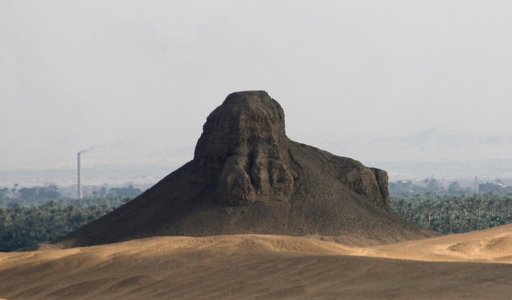 Black pyramid at Dahshur. 9 Different Egyptian Pyramids (That AREN'T The Giza Pyramids) You Need To See