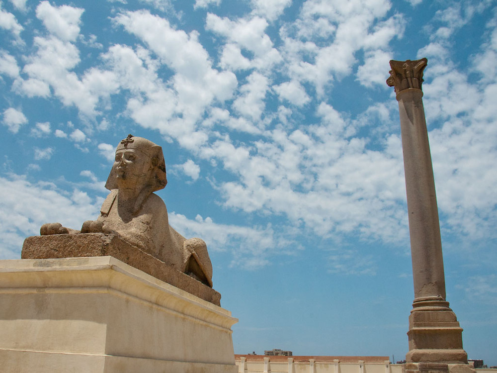 Pompey's Pillar. Sightseeing in Alexandria, Egypt: 15 Best Things To See And Do