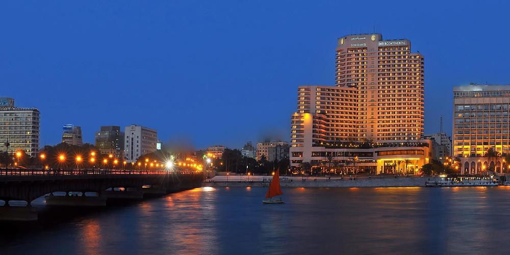 Semiramis Intercontinental in Garden City. Best hotels in Cairo Egypt