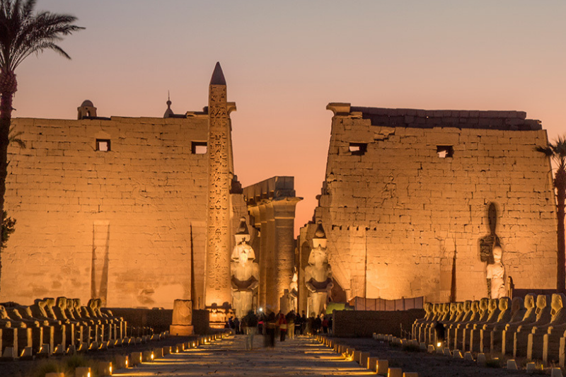 luxor temple. Most Impressive Ancient Egyptian Temples Still Standing Today