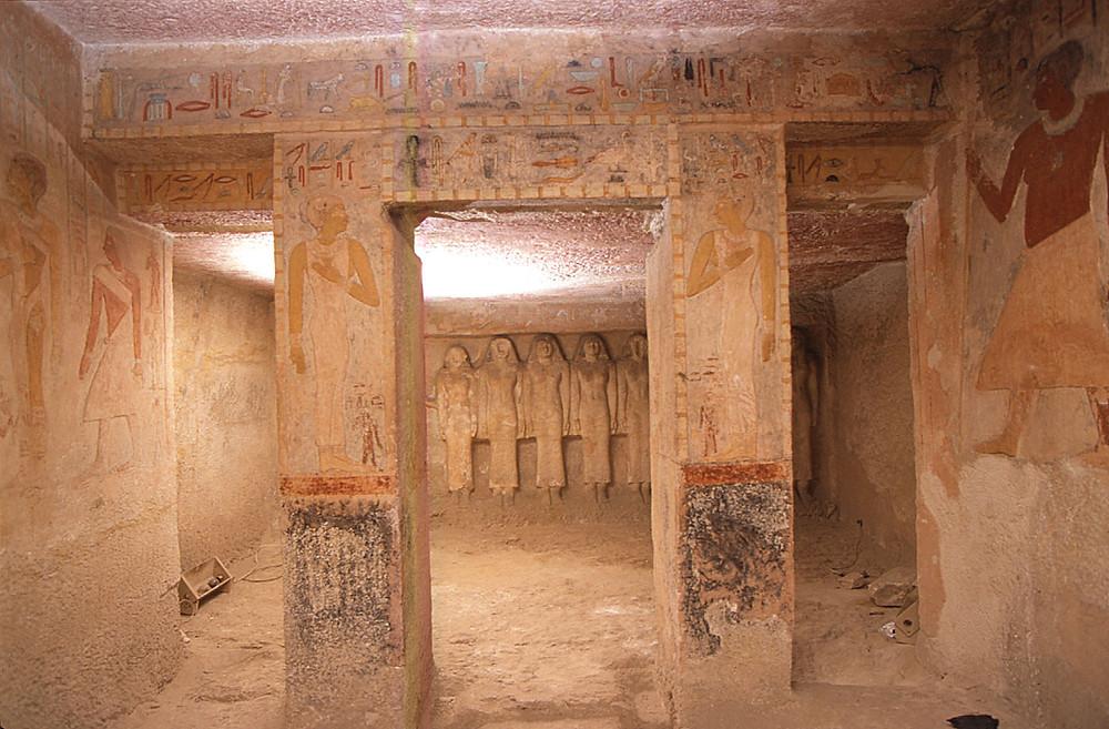 Tomb of Meresankh III virtual tour