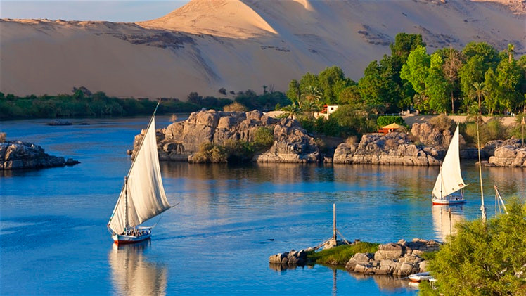 Aswan, Egypt. Best places to spend new year's in egypt