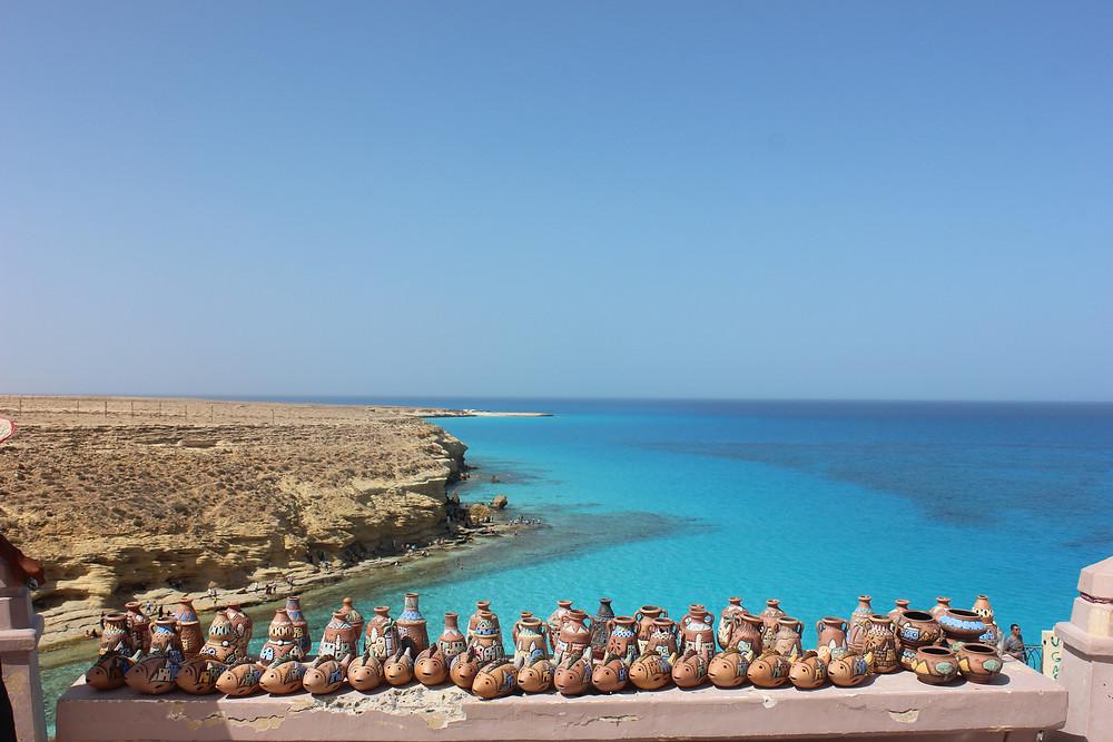 Agiba Beach in Marsa Matrouh, Egypt. Best views in Egypt