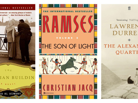 10 Best Novels in English about Modern and Ancient Egypt
