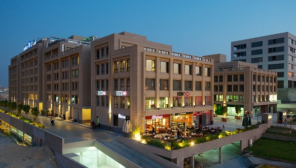Arkan Plaza and Mall in 6th October City, a suburb, area and neighborhood in Cairo Egypt
