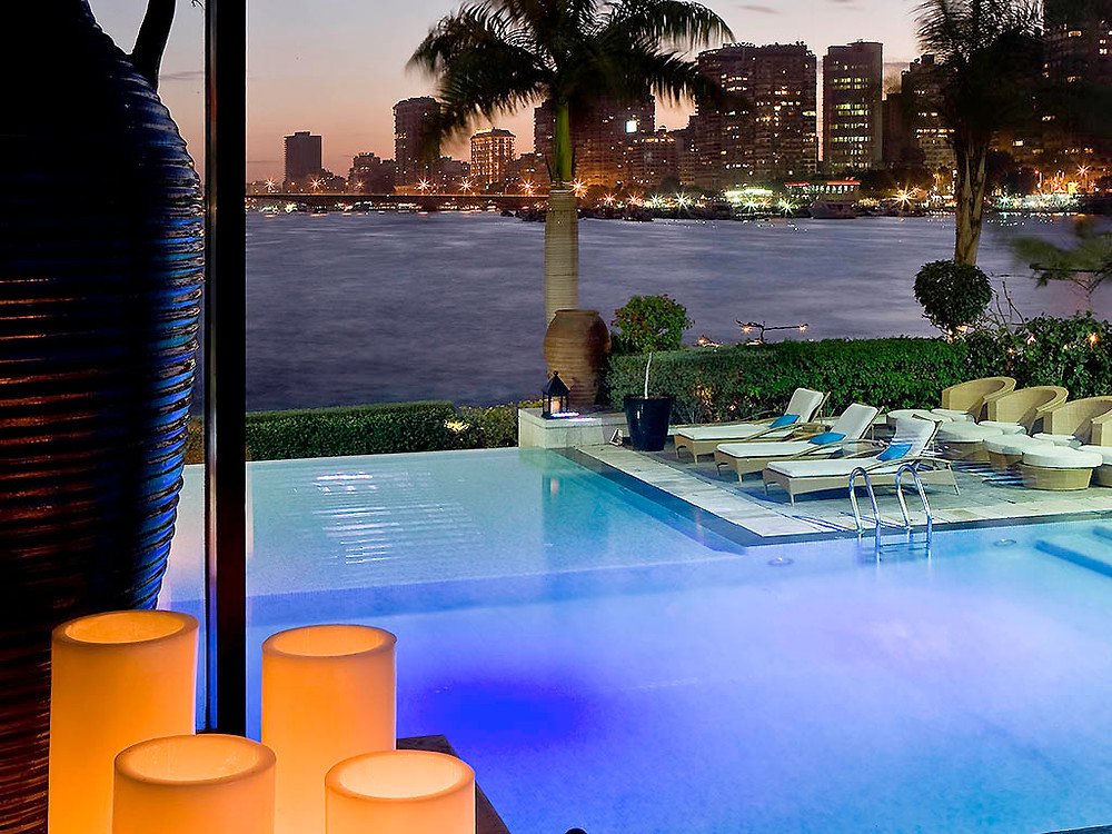 Sofitel Gezirah Hotel in Zamalek, Cairo, Egypt. Best views in Egypt