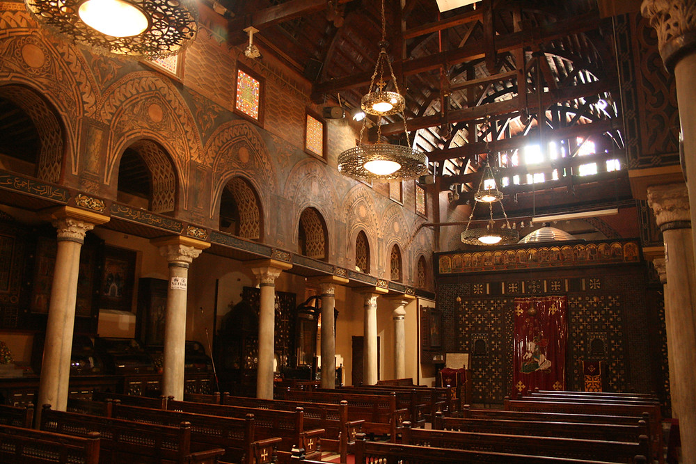 Hanging church. Cairo Sightseeing For Free: 10 Awesome Sites That Don't Cost Anything To Visit