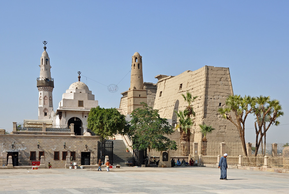 Abu haggag.10 Most Beautiful Mosques in Egypt