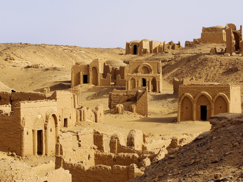 Bagawat. 9 Natural and Historical Sites in Egypt Most People Have Never Heard Of