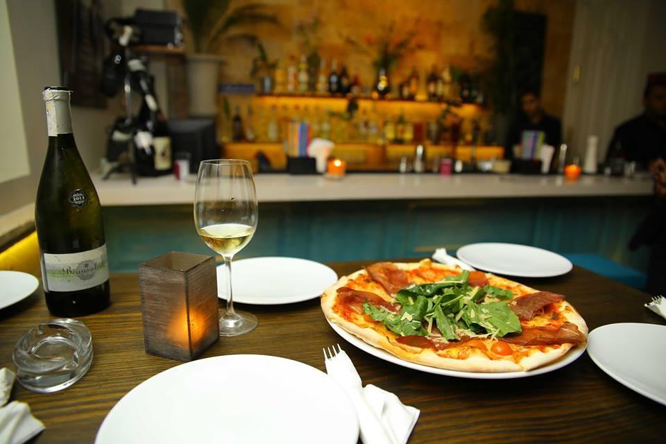 Olivo pizzeria in Zamalek. Best restaurants in Cairo Egypt