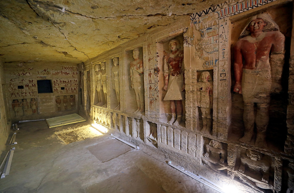 tomb of mehu virtual tour