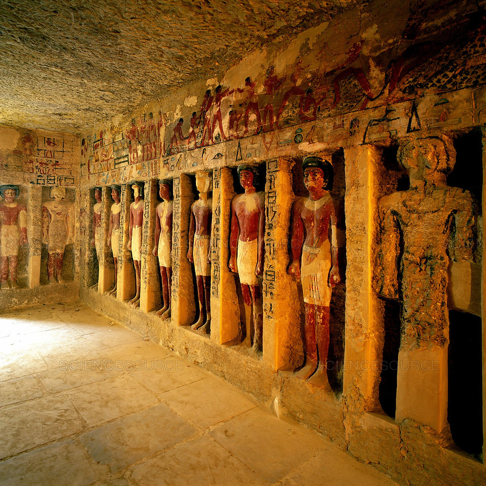 Saqqara mastaba tombs. Best Ancient Egyptian Tomb Sites in Modern Day Egypt