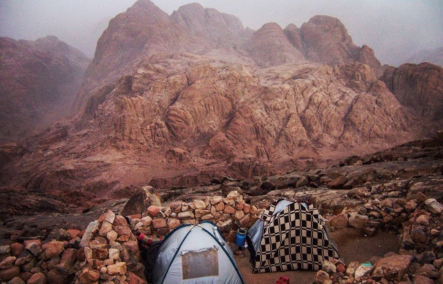 best camping in Egypt