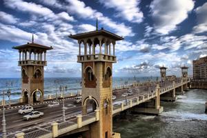 Stanley Bridge in Alexandria, Egypt. best views in egypt