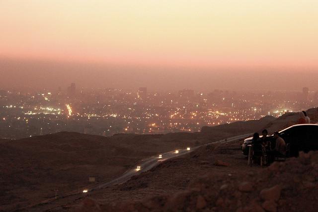 Moqattam sunset. Cairo on a Budget: 10 Cheap Ways To Enjoy The City