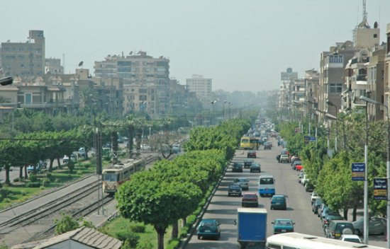 The neighborhood of Heliopolis in Cairo, Egypt