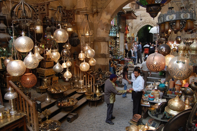 khan el khalili. Cairo Sightseeing For Free: 10 Awesome Sites That Don't Cost Anything To Visit