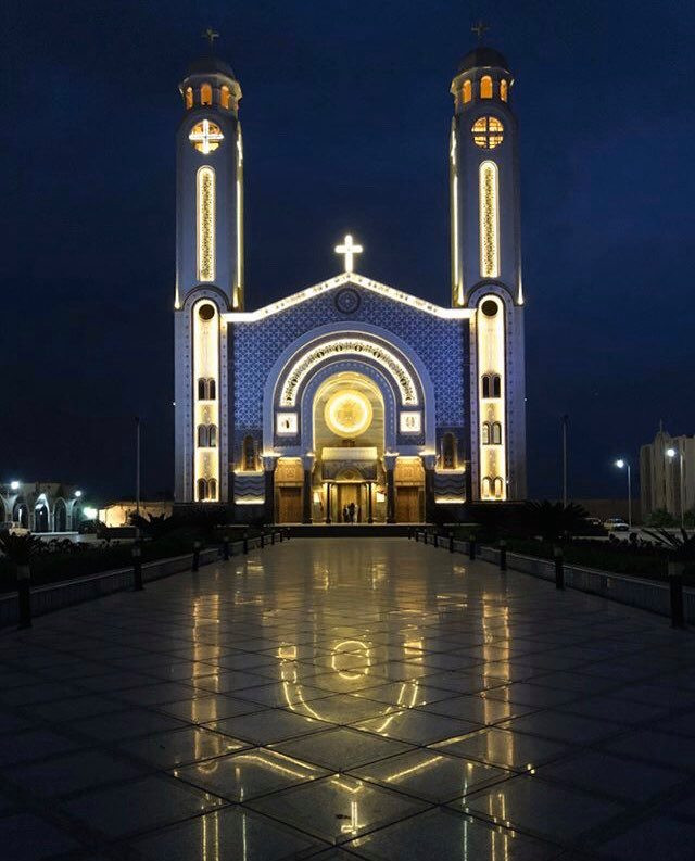 St. Mena. Most Beautiful Coptic Orthodox Monasteries in Egypt