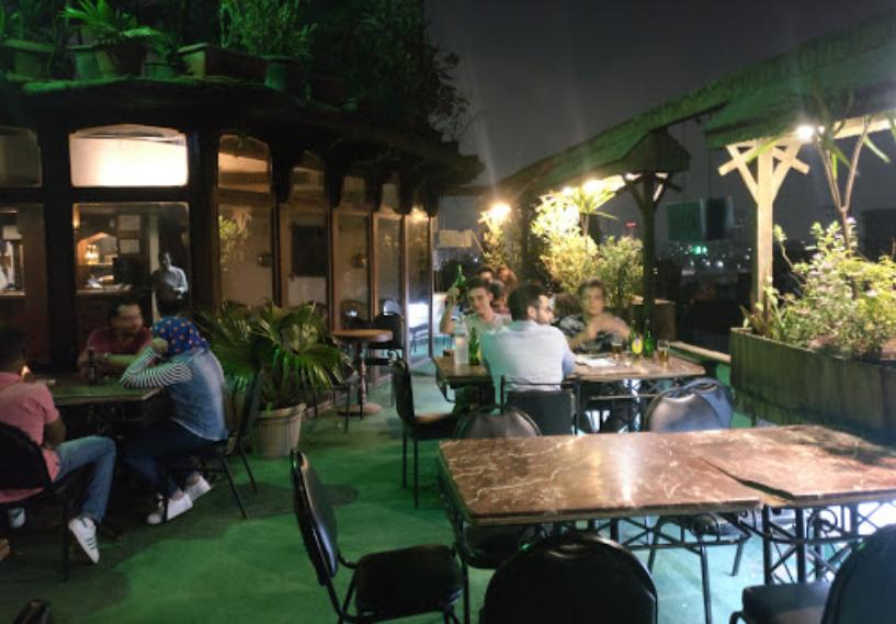 Odeon rooftop. Best Rooftop Bars in Cairo