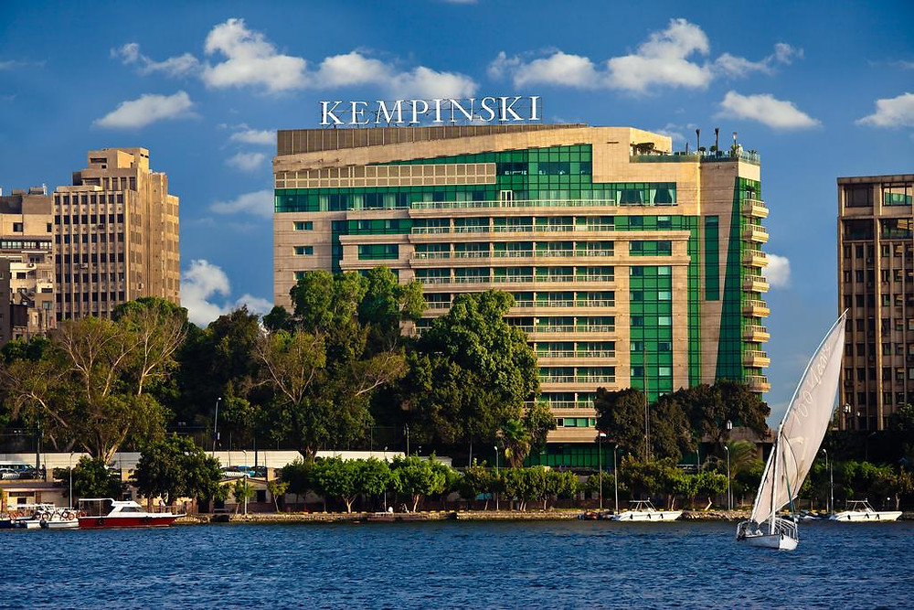 Kempinski Nile Hotel in Garden City. Best hotels in Cairo Egypt