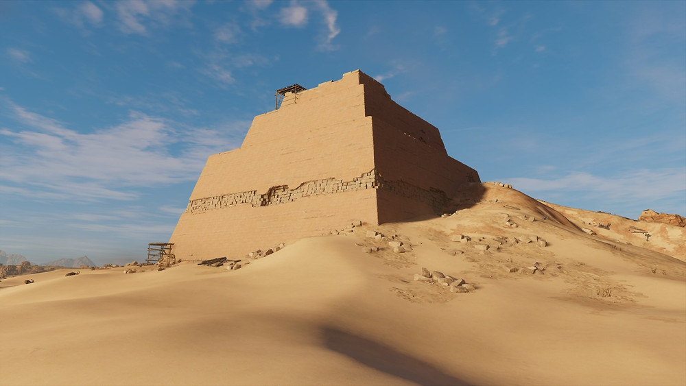 Meidum pyramid at Fayoum. 9 Different Egyptian Pyramids (That AREN'T The Giza Pyramids) You Need To See