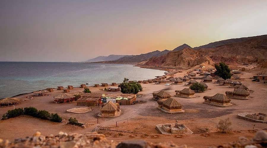 Ras Shetan, Nuweiba, Egypt. Best new year's spots in Egypt