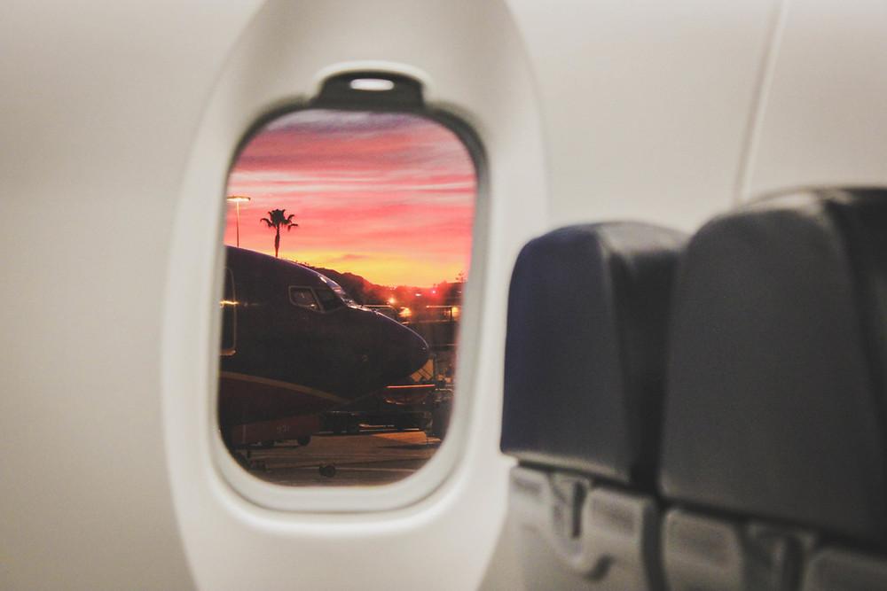landing in Cairo Egypt